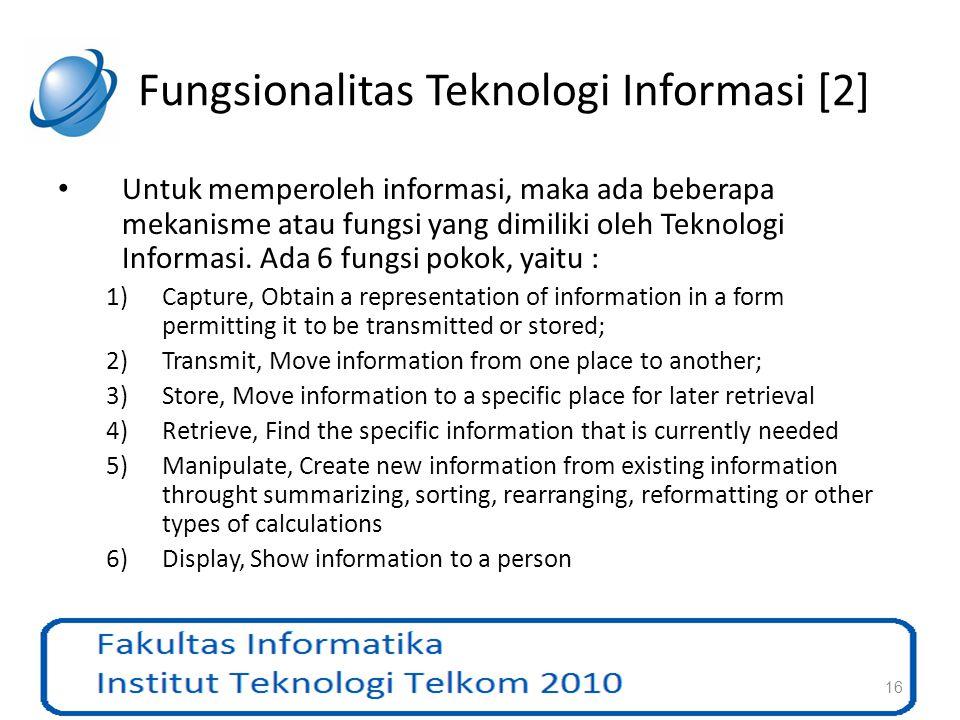 Fungsionalitas Teknologi Informasi [2]